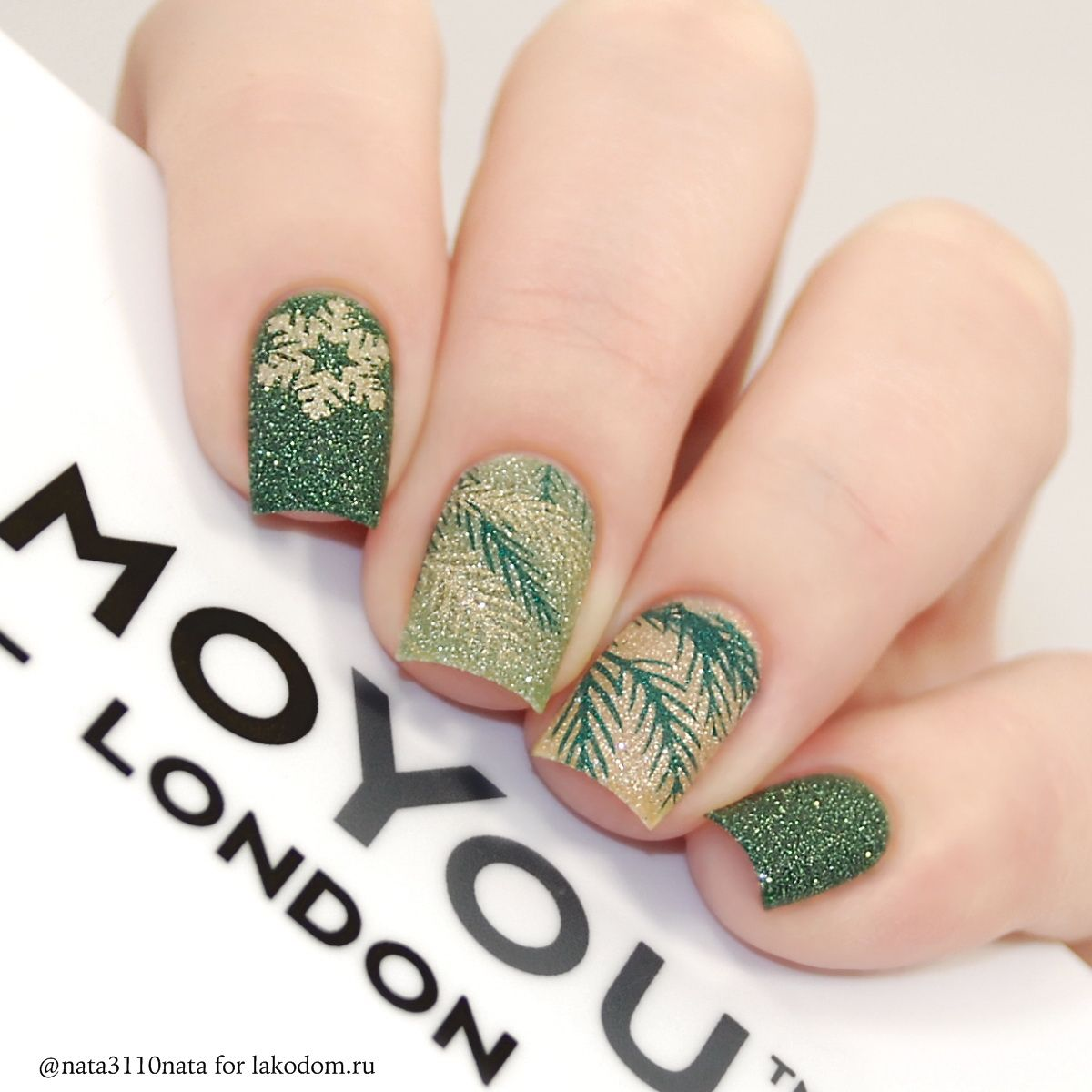 Маникюр moyou london 72