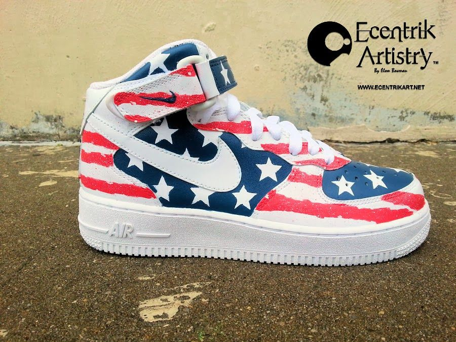 best sneakers 028b9 61f66 American Flag Air Force   American Flag Air Force 1