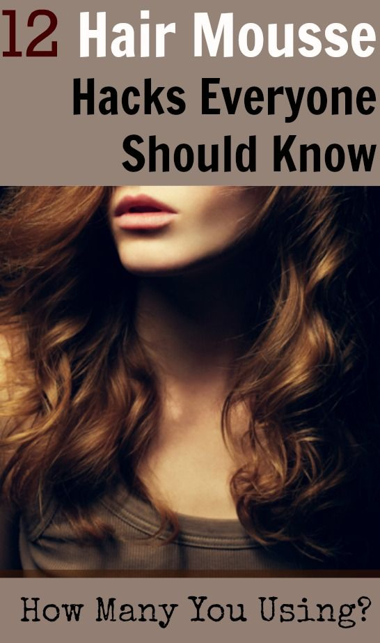 Mousse Can Do Much More Than Just Pump Up The Volume Get 12 Hacks To Try Now Hair Mousse How To Curl Your Hair Styling Mousse