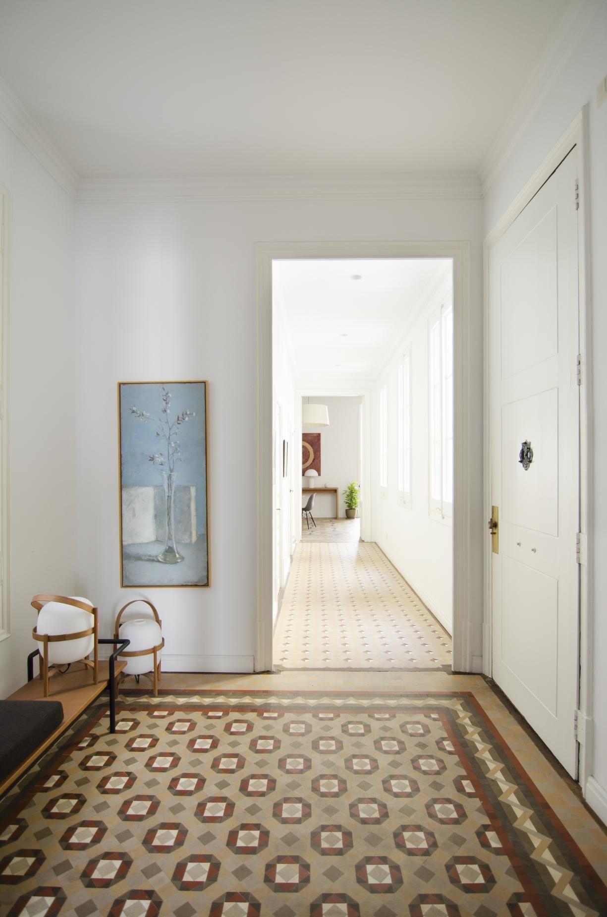 Restauraci n de una vivienda modernista en el ensanche for Decoracion piso eixample
