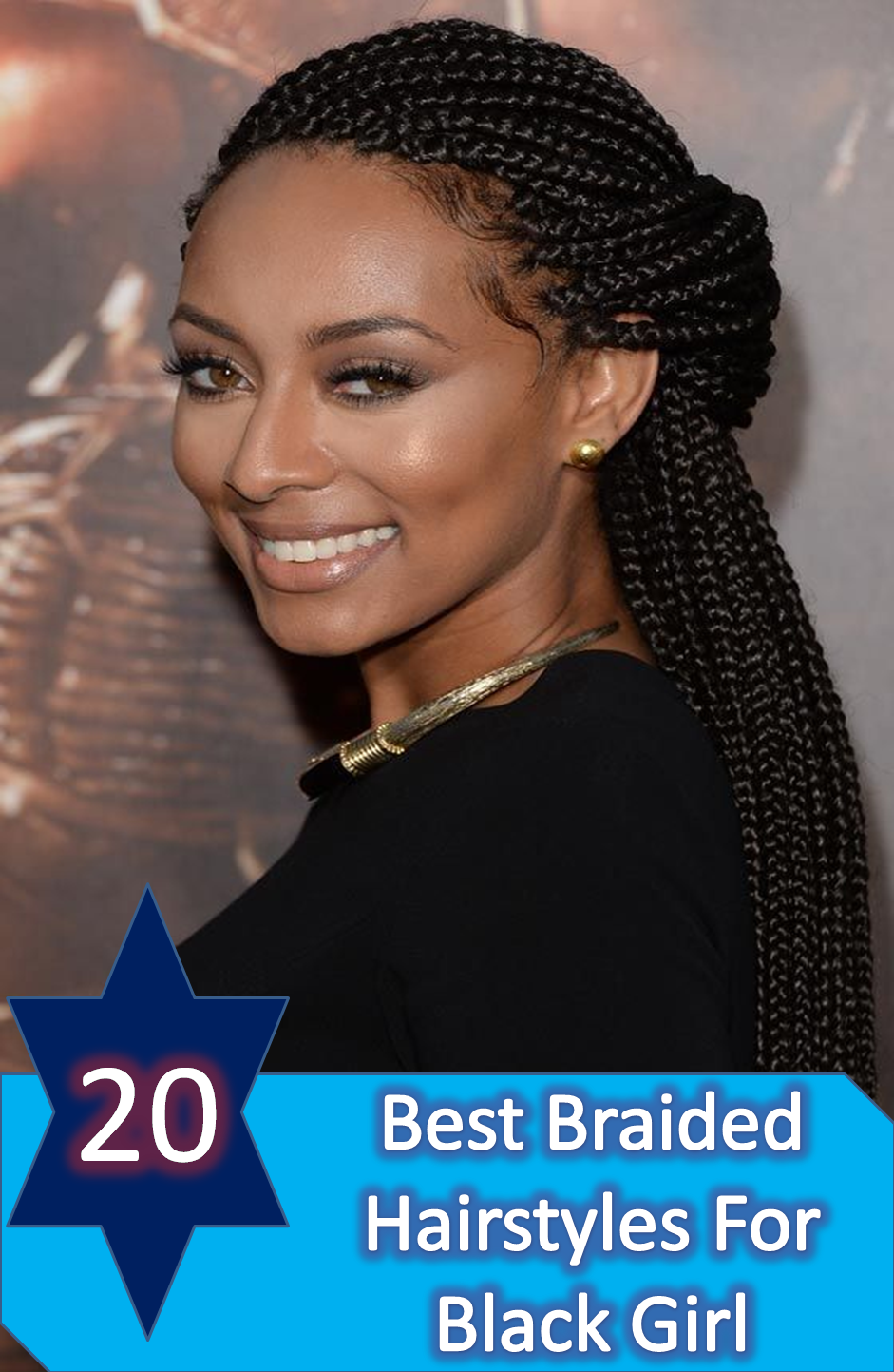 20 Amazing And Artistic Braided Hairstyles Ideas For Black Girl
