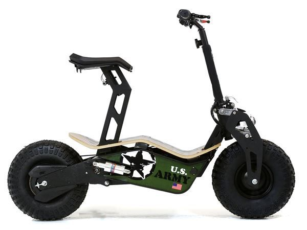 Velocifero 48 Volt 1600w Electric Scooter Big Wheel