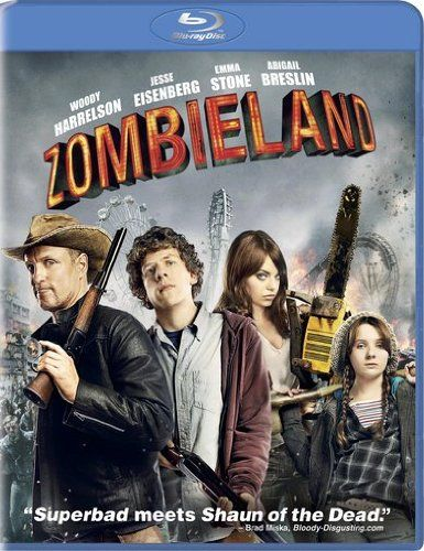 Zombieland [Blu-ray] -- 8 Gifts for Zombie Lovers #Christmas #ZombieGift