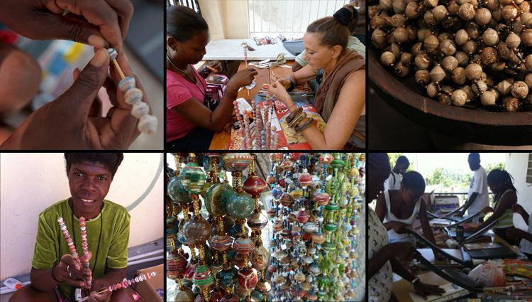 Helping local artisans make jewelry