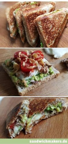 Photo of Sandwich maker recipe with tuna and avocado – delicious and healthy