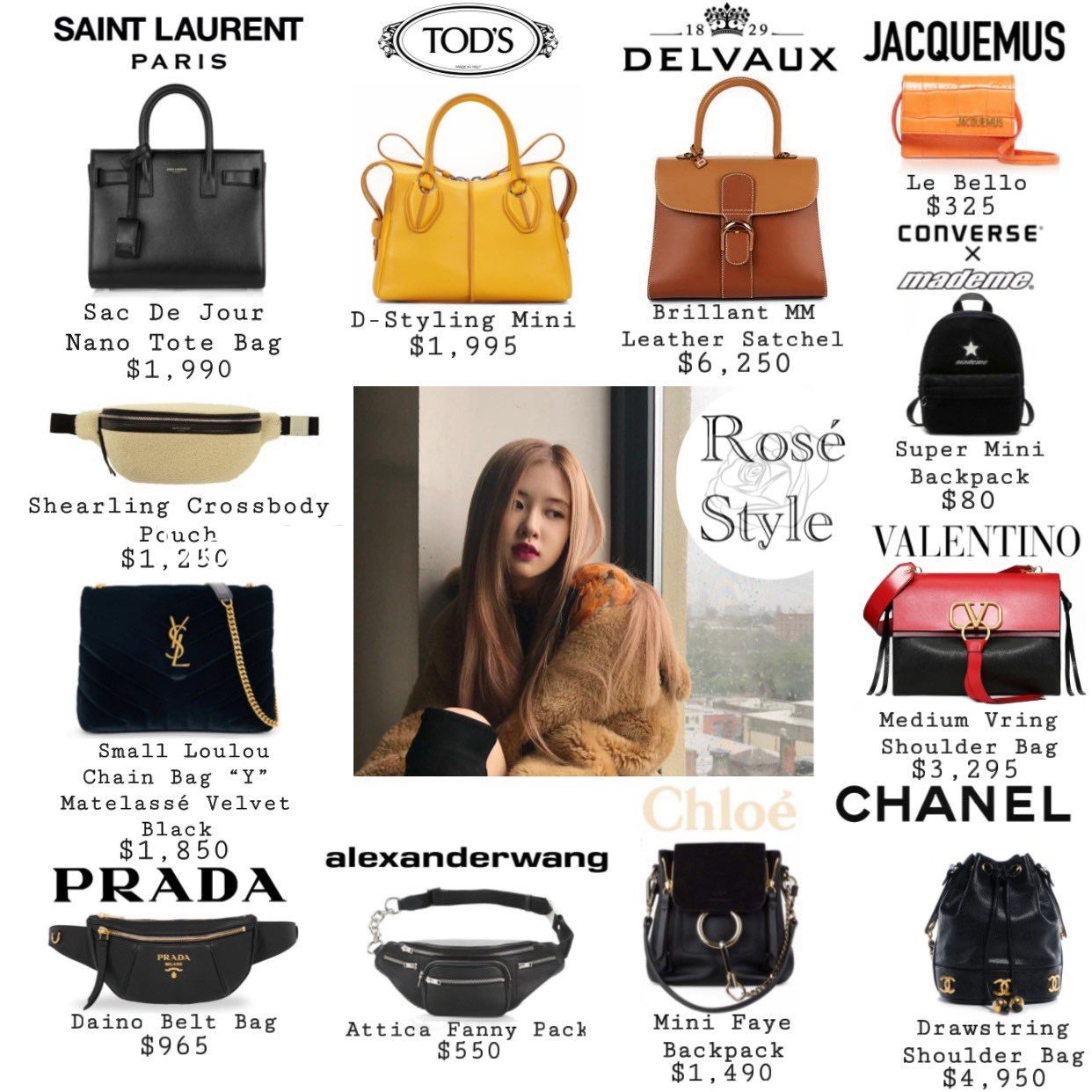 Pin By Nana On Blackpink In Your Area Fashion Pouch Designer Bags For Less Blackpink Fashion