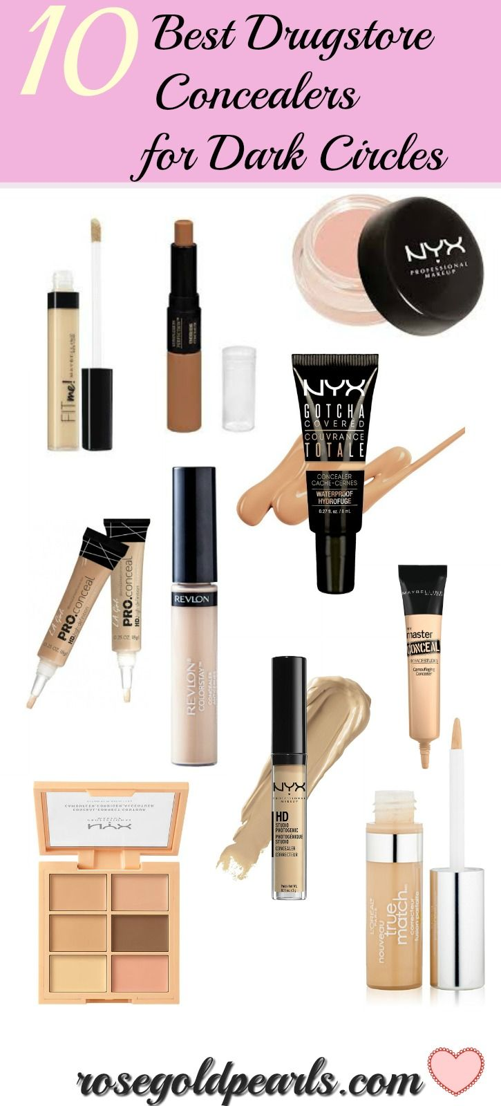 Try These Ten Drugstore Concealers To Eliminate Your Dark ...