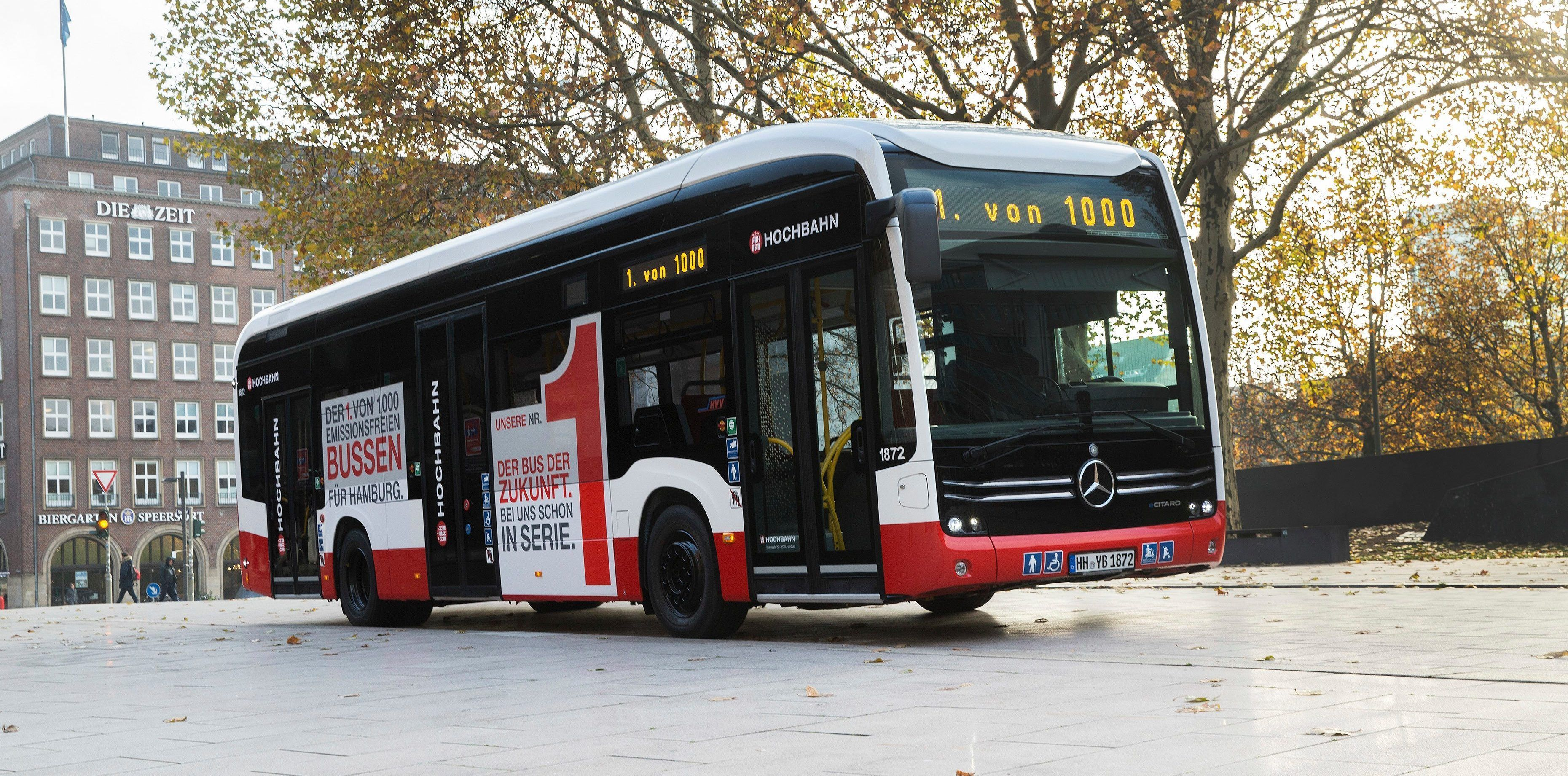 Mercedes‑Benz delivers its first eCitaro electric bus | RENEWABLE