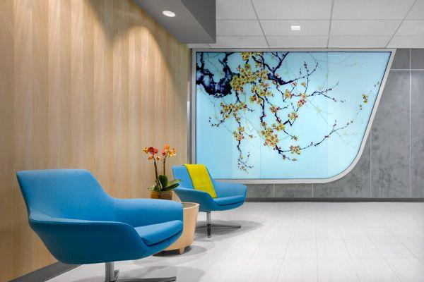 Los Angeles Center For Women S Health Contract Magazine Hospital Interior Design Healthcare Interior Design Clinic Design