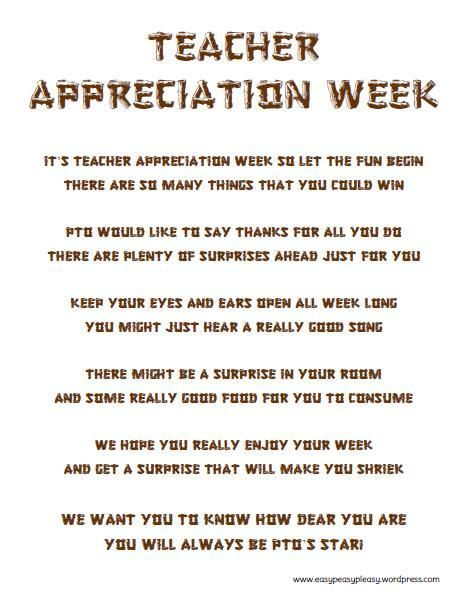 how to show teacher appreciation in a big way