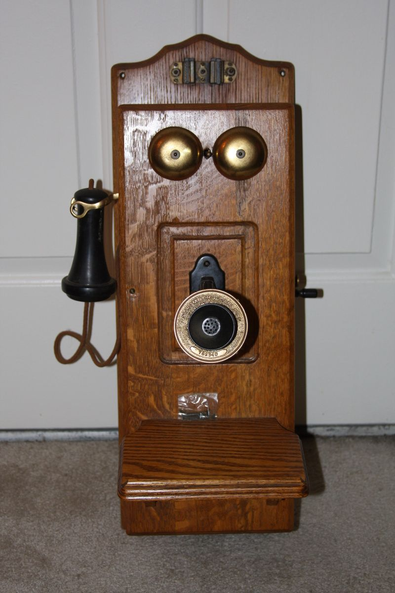 Antique Telephones Stromberg Carlson Antique Wall Phone In