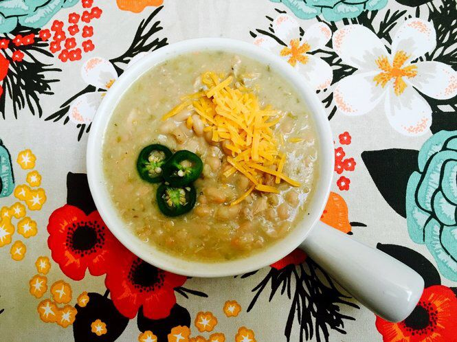White Chicken Chili: An easy meal for a weeknight or game day