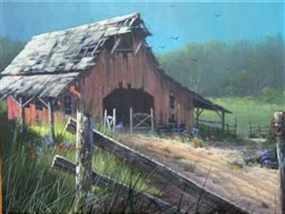 Paintings By Jerry Yarnell Google Search Barns