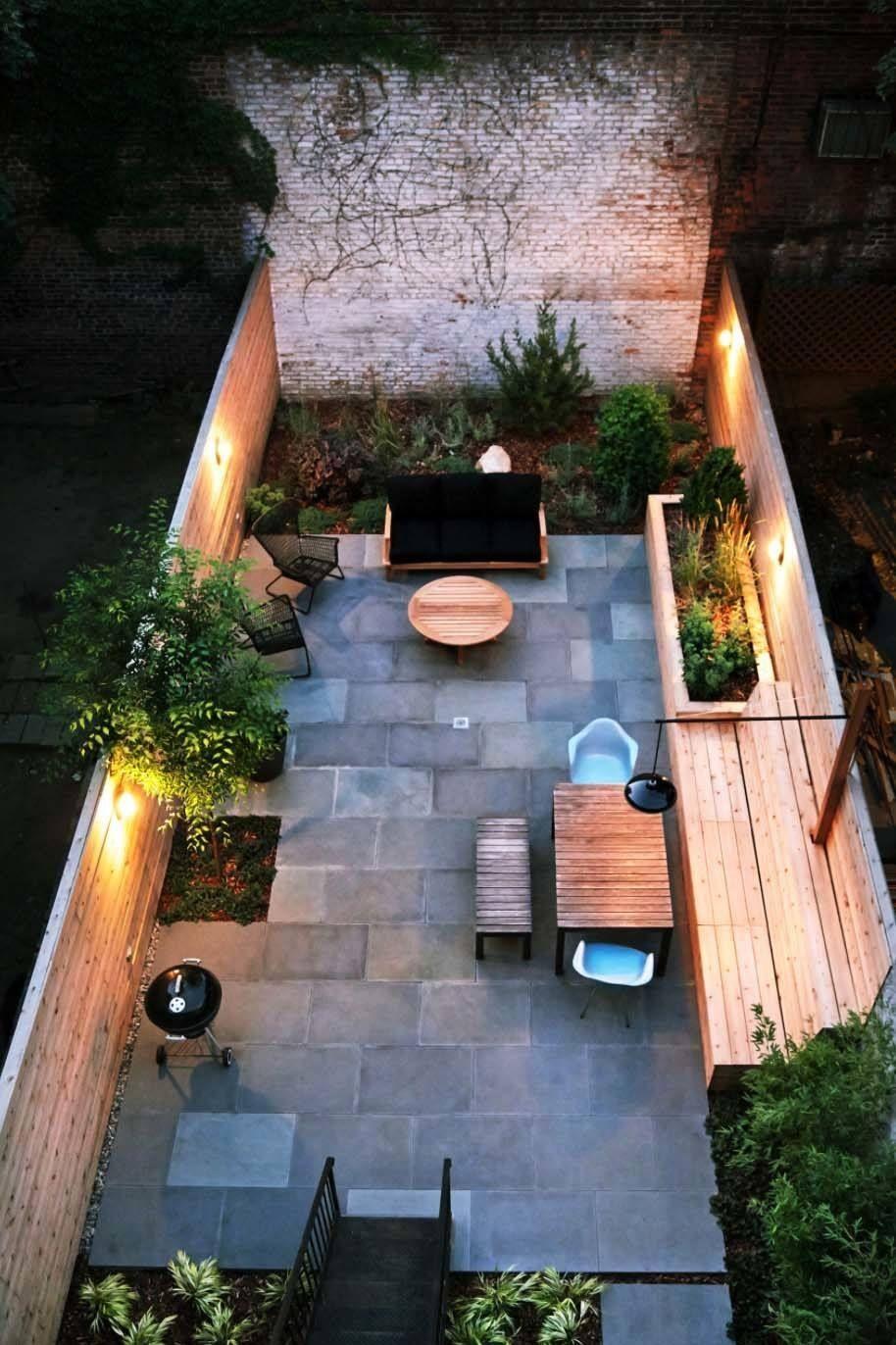 35 Modern Outdoor Patio Designs That Will Blow Your Mind Tuin Tuinvloer Stadstuinen