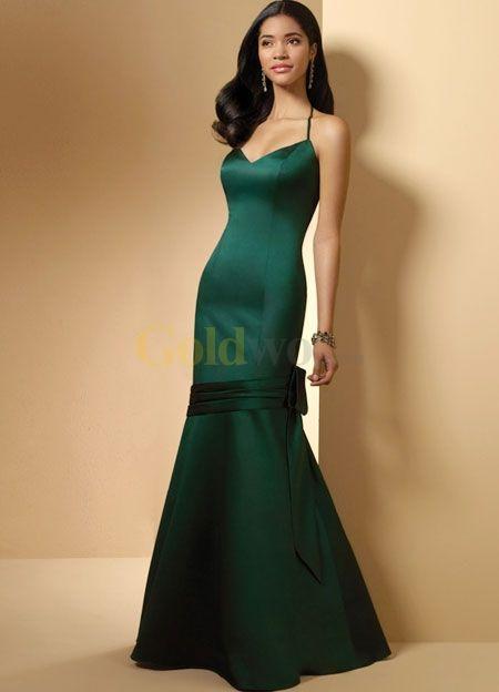 Green Evening Gown  Dress  Alfred Angelo Vintage Green Maxi Dress  Women/'s Designer Formal Wear  Prom Dress  Size 2