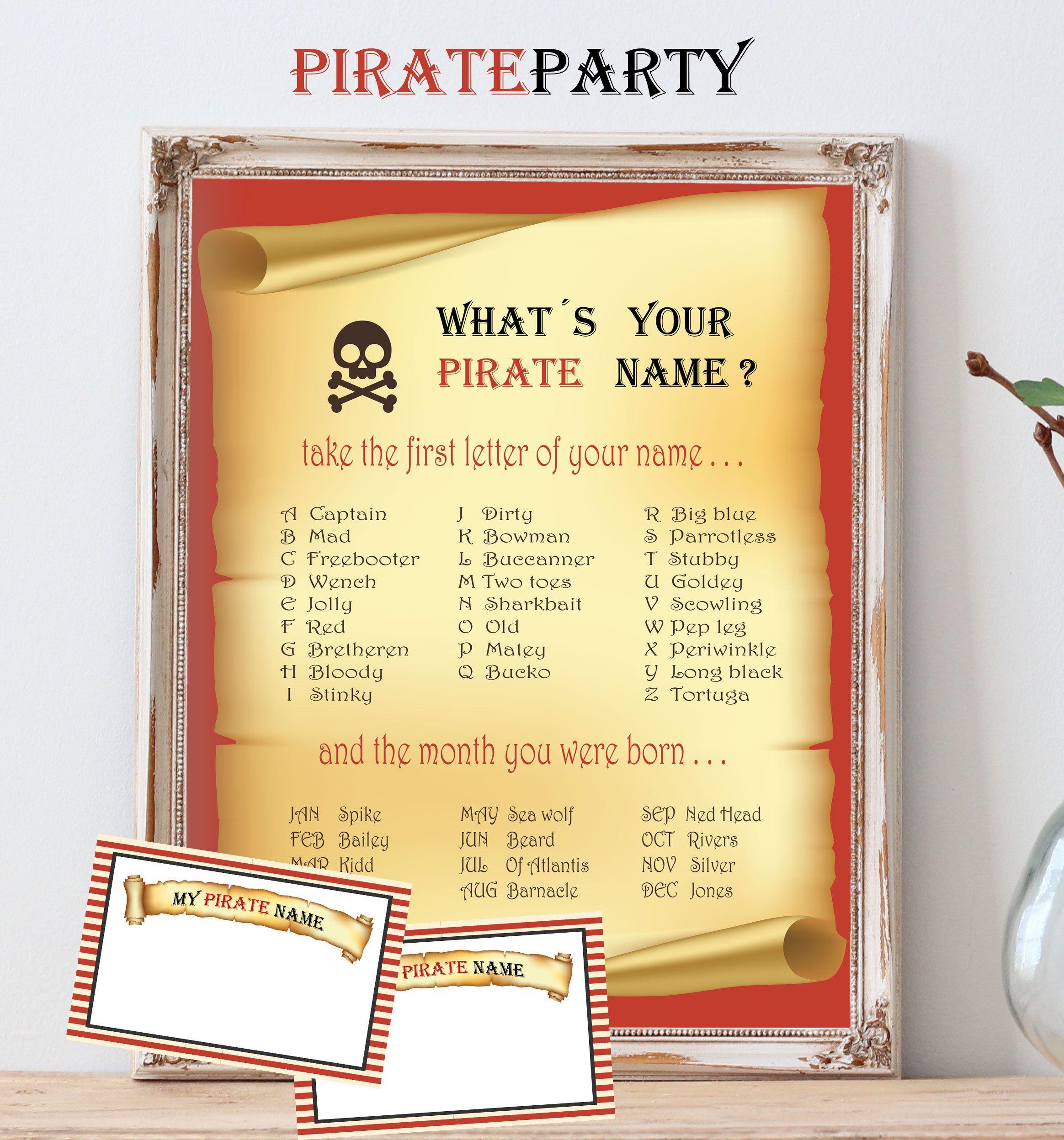 Pirate Girl Name - Baby Names