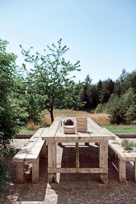 En Suède, une ancienne ferme repensée en loft Green houses