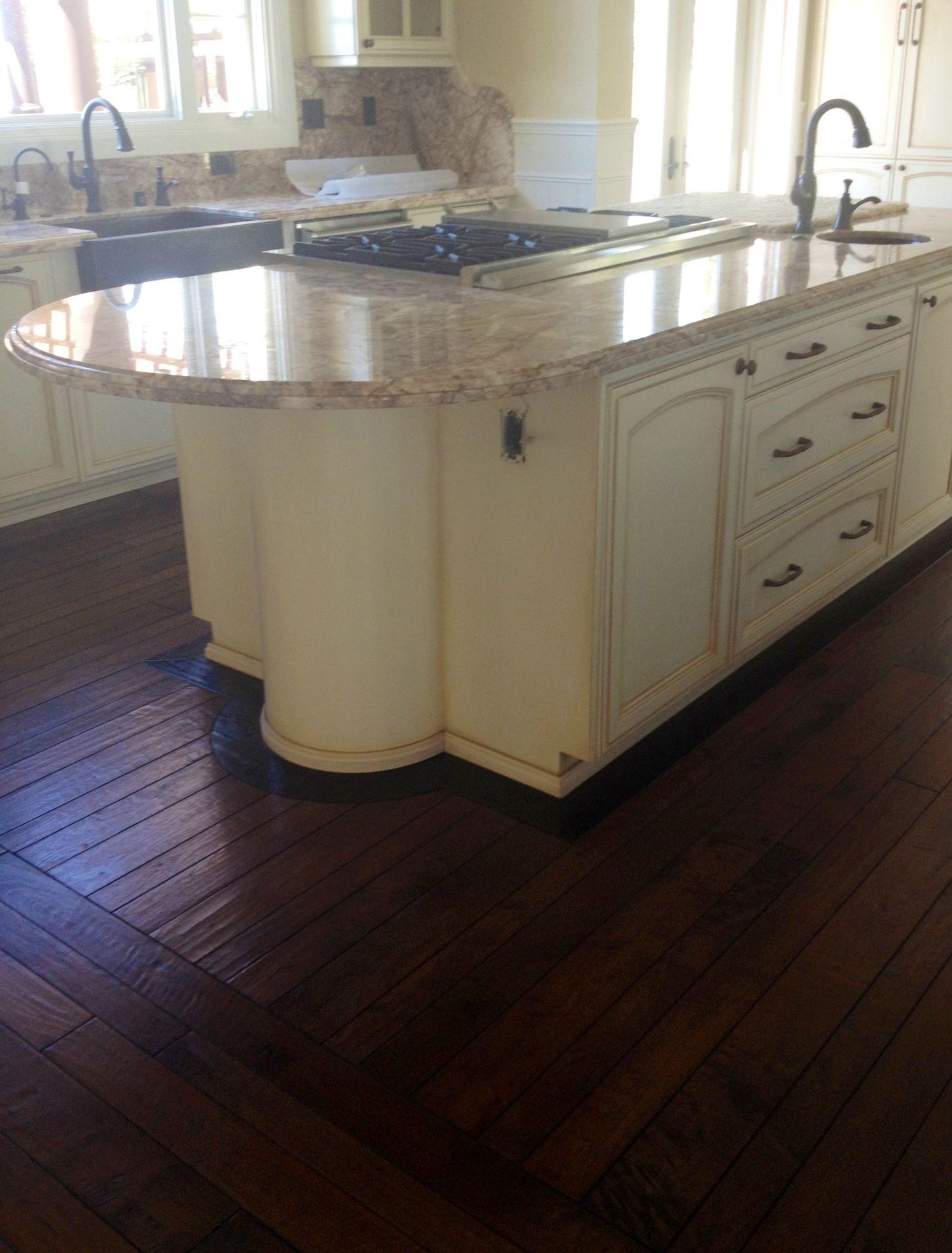 Richard Marshall Custom Wood Floor Installed For A Client In Newport Beach,  California. Custom