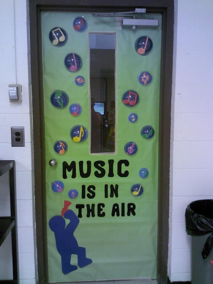 Music Themed Classroom Decorations ~ Music door decoration classroom decor pinterest
