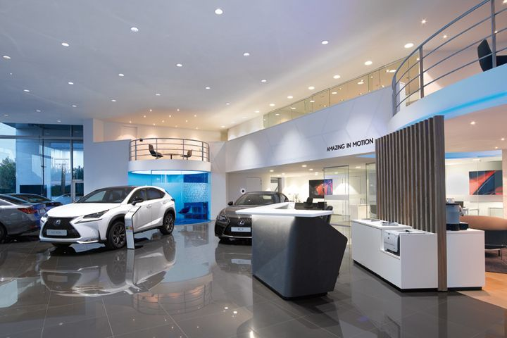 Lexus showroom by ARNO, Europe  Retail Design Blog