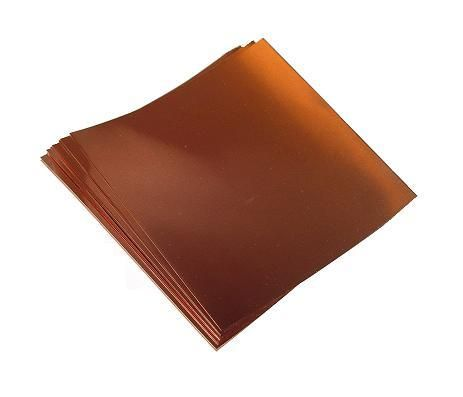 Copper Sheets 22 Mil 24 Gauge 022 Thick 12 Inches Wide By 12 Inches Long 2 Sheets Copper Sheets Copper Wire Jewelry Copper