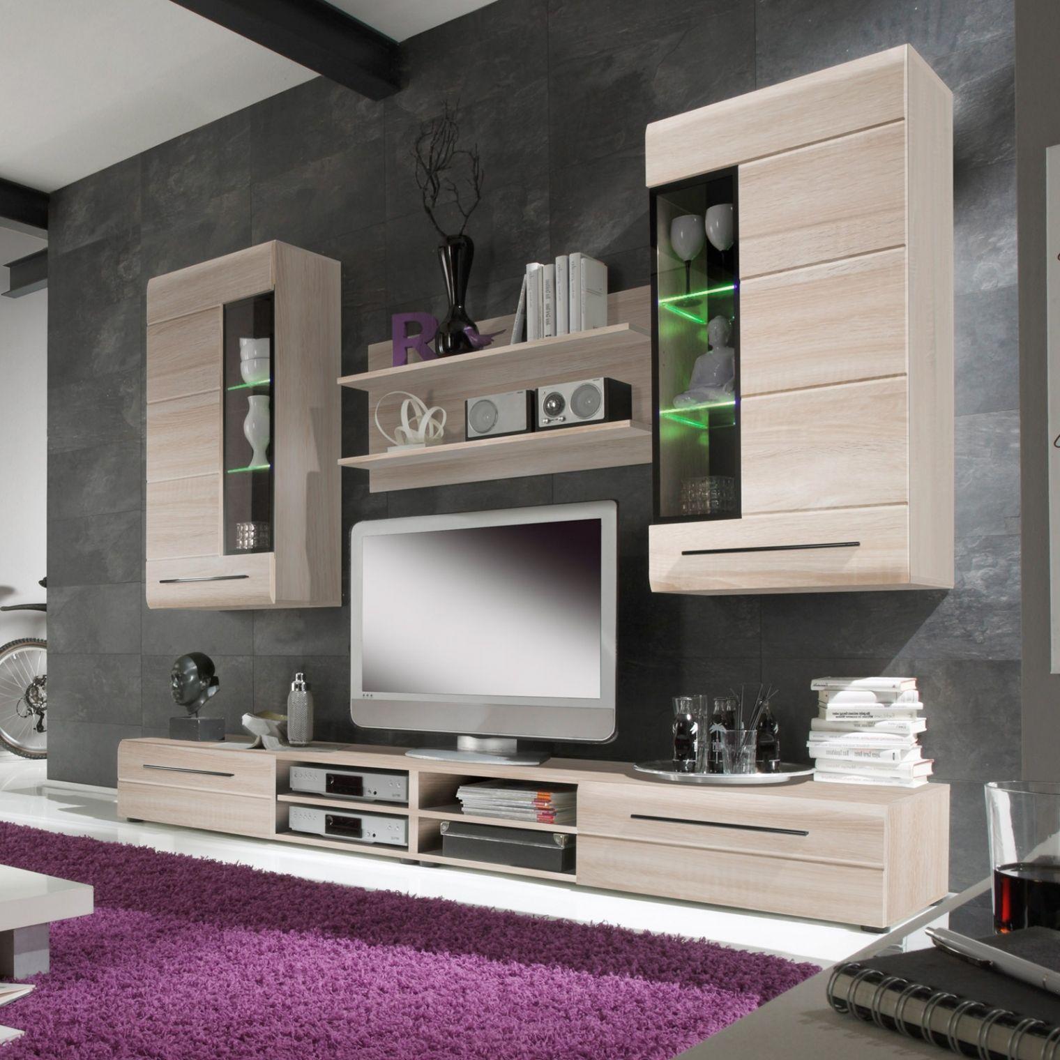Brillant Wohnzimmer Anbauwand Living Room Sets Furniture Led
