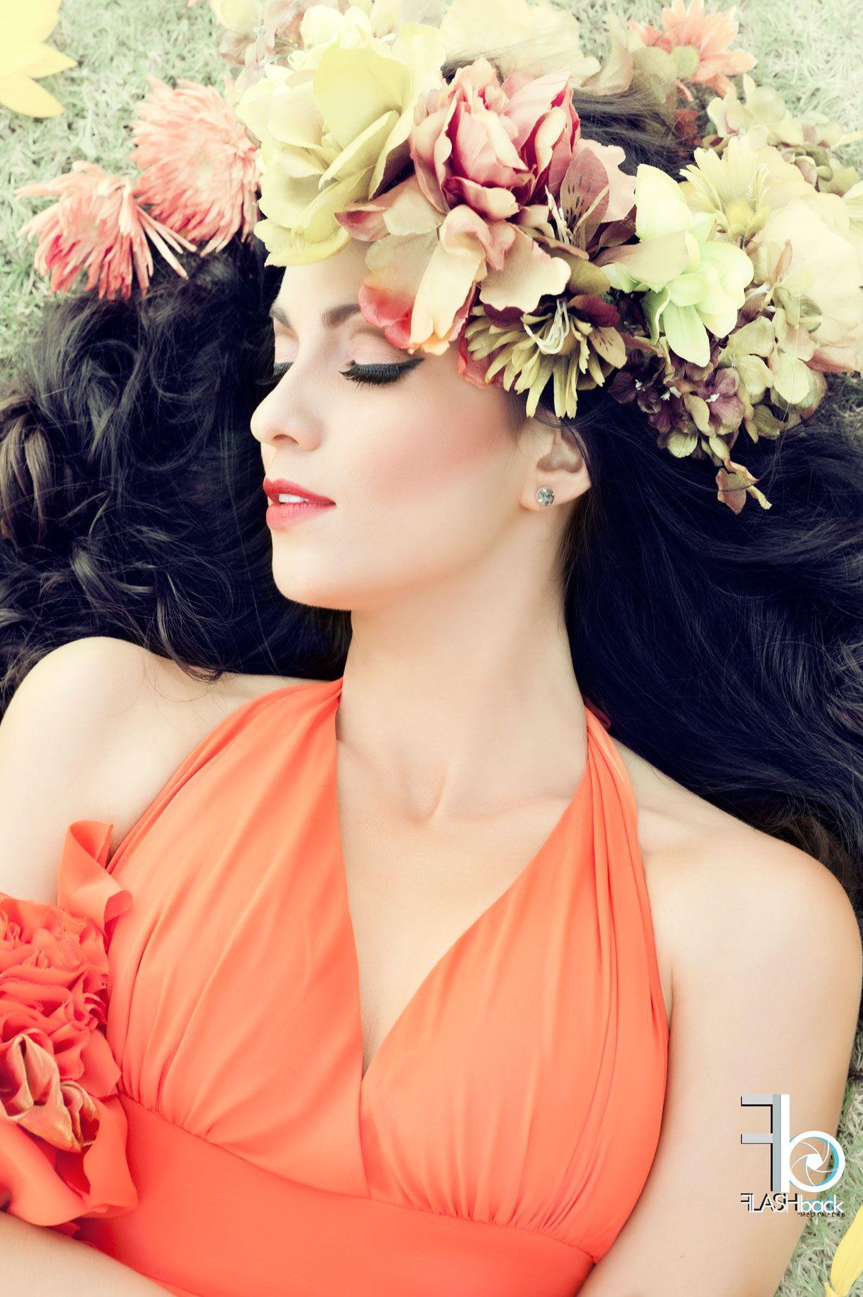 PRIMAVERA Model Silvia Bacca Makeup Yeisson Pico