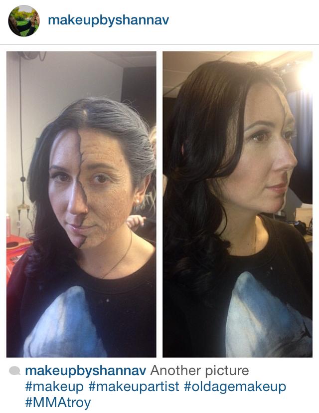 Makeup by MMA Alumni Shanna Moore! MMAMakeupAcademy