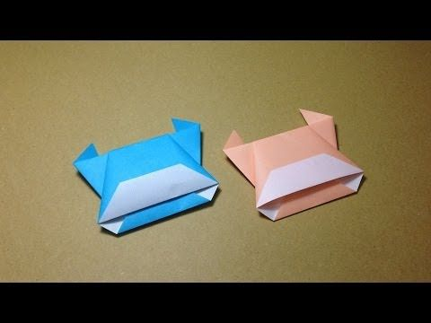How To Make A Paper Animals Origami Cow Easy For Children