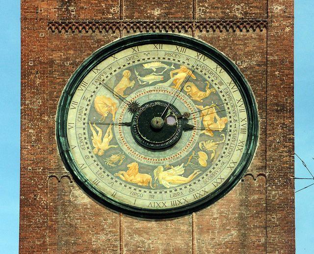 Torrazzo of Cremona Clock