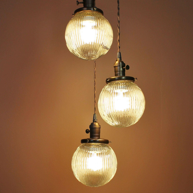 Entry light chandelier cascading pendant lights via