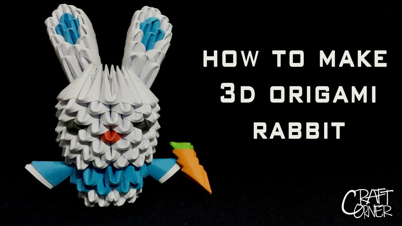 Photo of Wie man 3D Origami Rabbit macht – 3D Origami Anfänger Tutorials