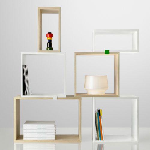 DESIGNDELICATESSEN.COM - Muuto Stacked with Backing Shelf