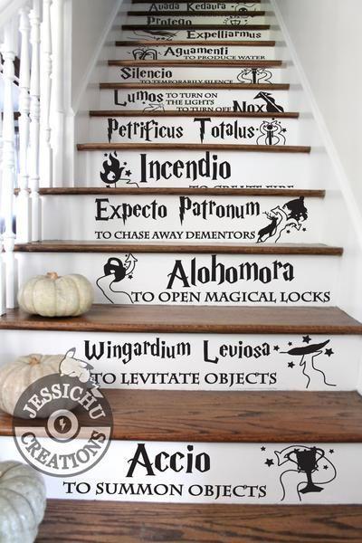 Custom Set of Stairs Vinyl Decal - Home Decor #disneyhousedecor
