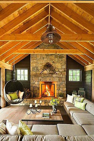 40 Awesome Rustic Living Room Decorating Ideas | D