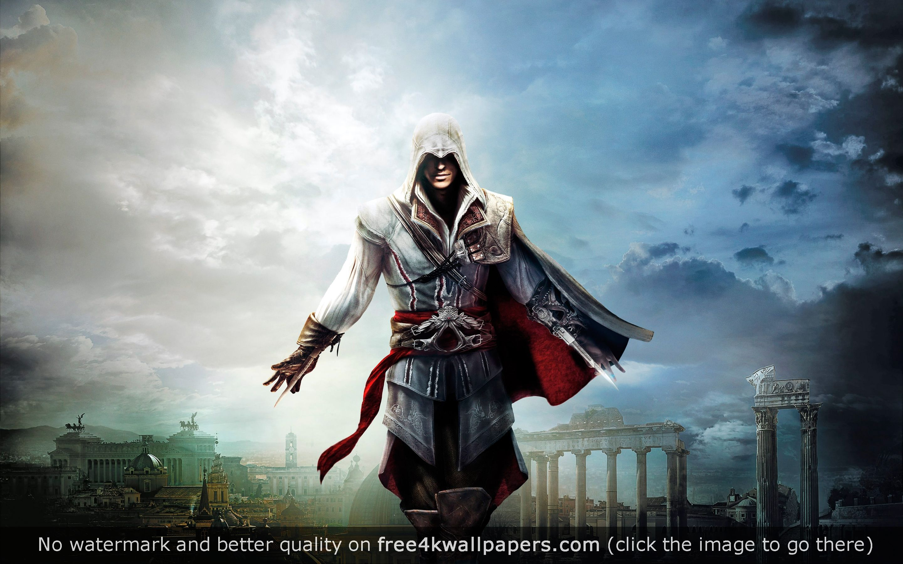 Ezio Assassins Creed The Ezio Collection 4k Hd Wallpaper Assassins Creed Assassin S Creed Wallpaper Assassin S Creed