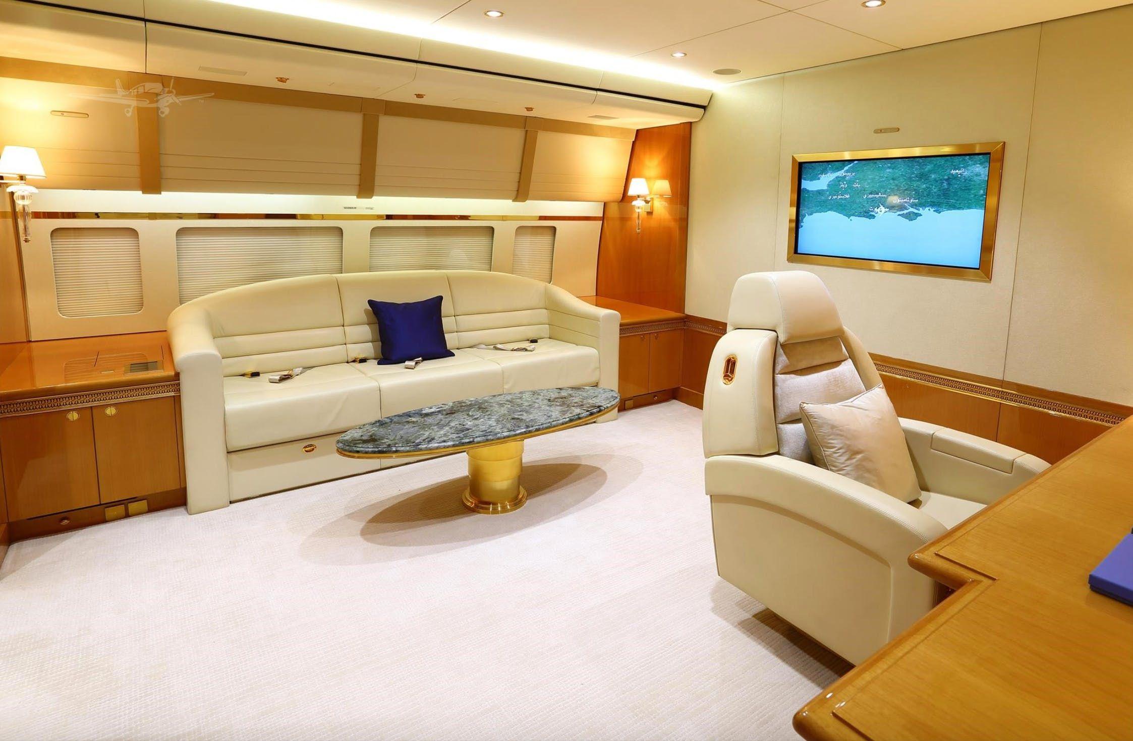 Qatari Royal Flight 7478I Jumbo Jet Is Up For Sale And