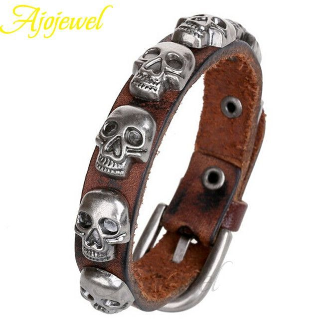 High Quality NEW Punk Fashion Charm Bracelet For Men
