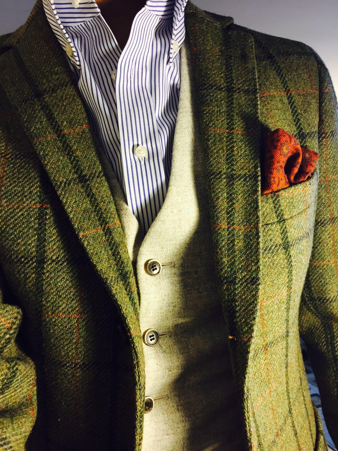 hindimiddle: 12.17.15 Tweed texture