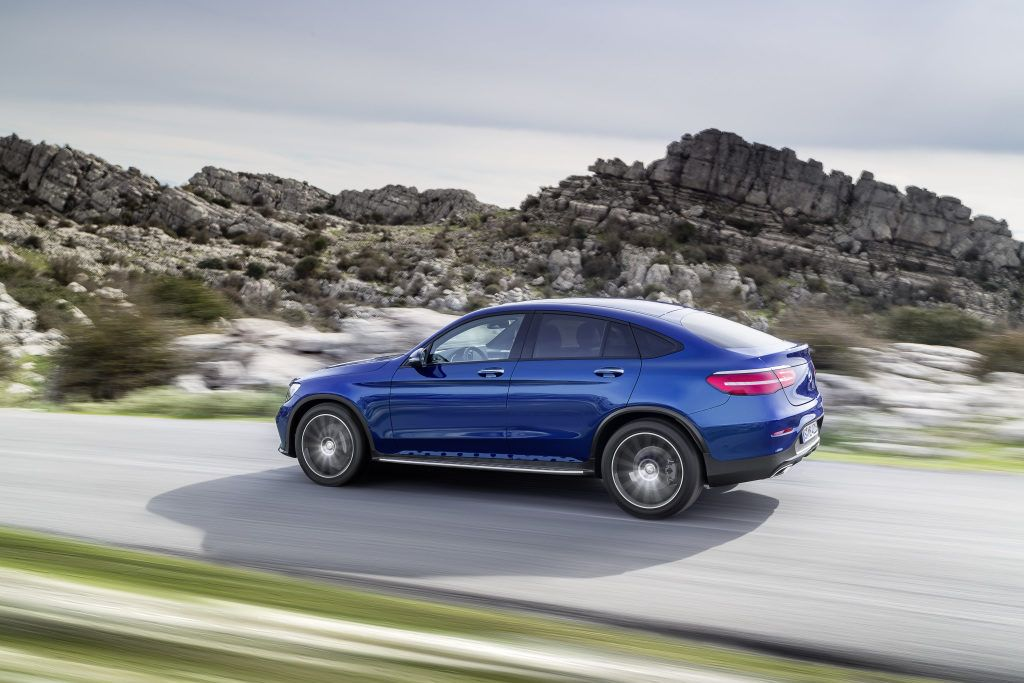 2016 Mercedes Benz Glc Coupe Review X4 And Evoque Watch Out