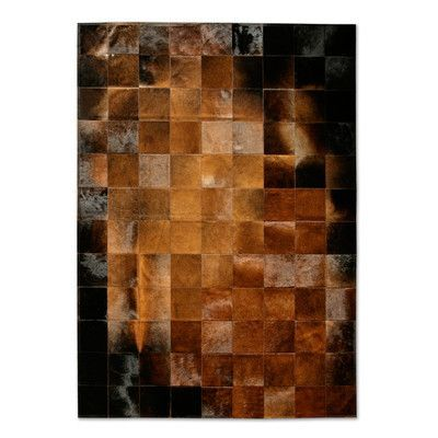 Pure Rugs Patchwork Cowhide Park Normand Brown Black Area Rug Cow Hide Rug Patchwork Rugs Rugs