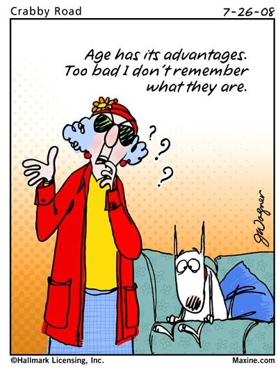 Maxine Cartoons About Old Age maxine s witty aging quote
