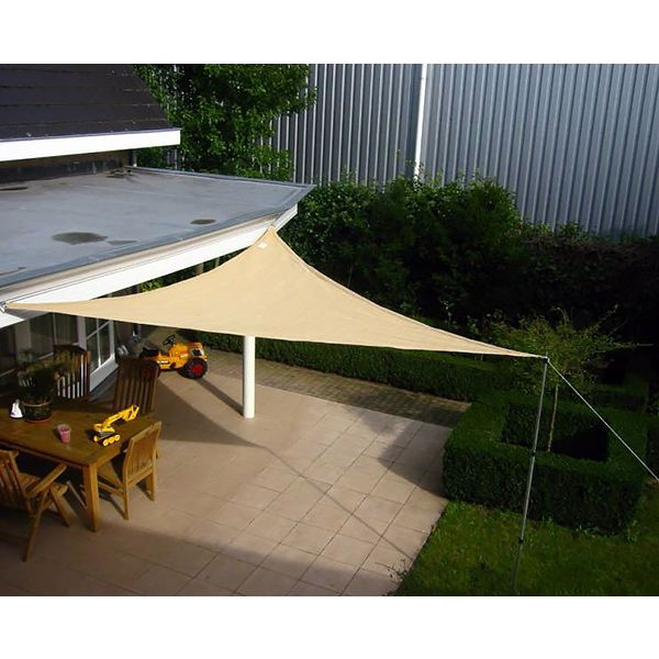 Greenfingers Shade Sail - 5m Triangle | eBay | Shade Sails | Pinterest
