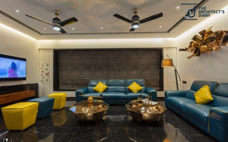 Dark Symposium Residence At Nashik Apartment Interior Design