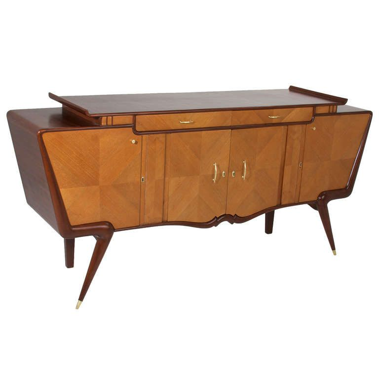 Sculptural Brazilian Cabinet in the Manner of Giuseppe Scapinelli | From a unique collection of antique and modern cabinets at http://www.1stdibs.com/furniture/storage-case-pieces/cabinets/