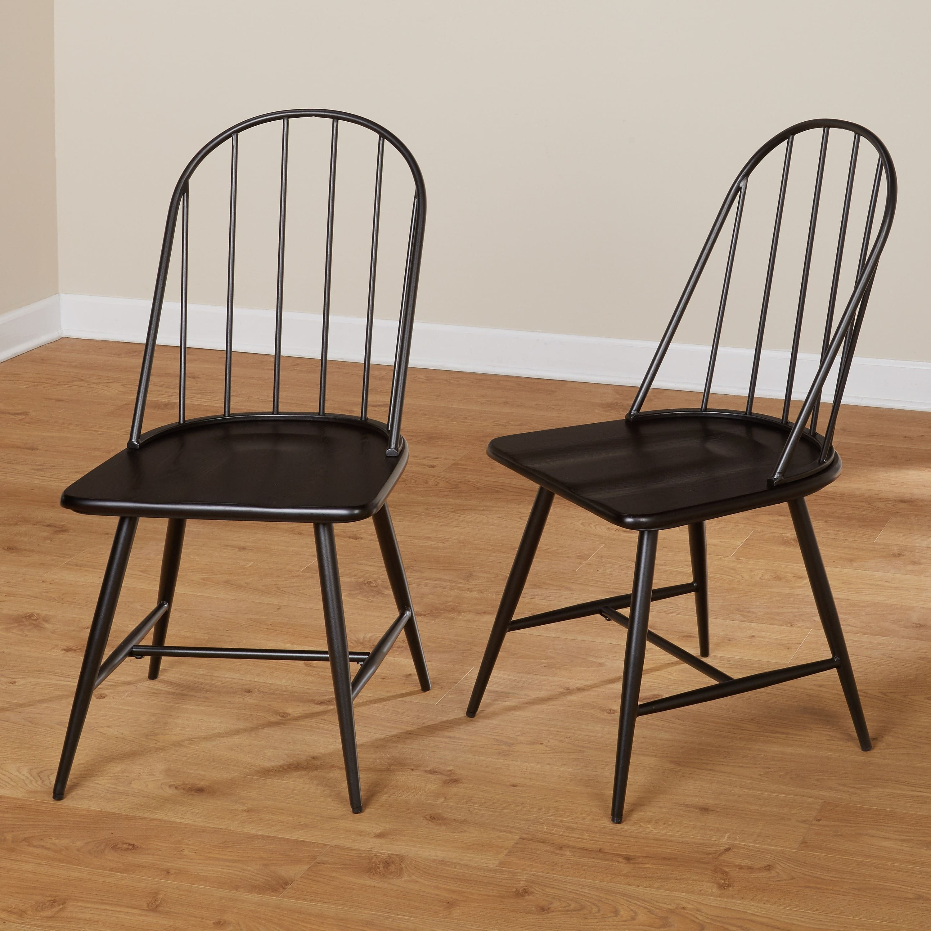 Simple Living Milo Mixed Media Dining Chairs Set Of 2 Room  # Muebles Kevin Charles