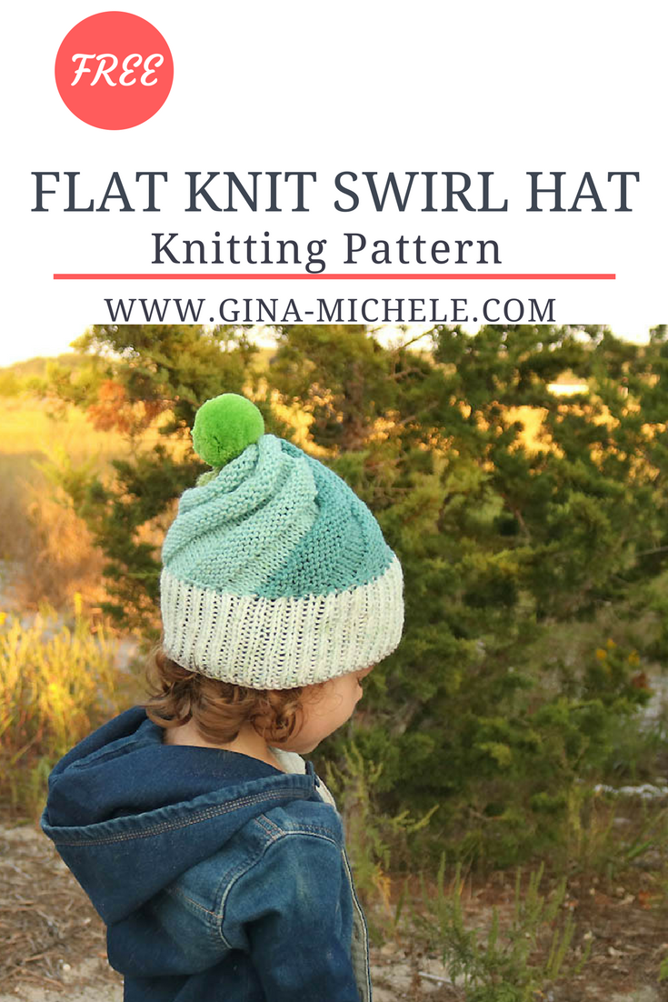 Free knitting pattern for this swirl hat its knit flat so its free knitting pattern for this swirl hat its knit flat so its perfect for beginners bankloansurffo Images