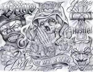 Mexicanstyle Art En Instagram Payasa By Moralez