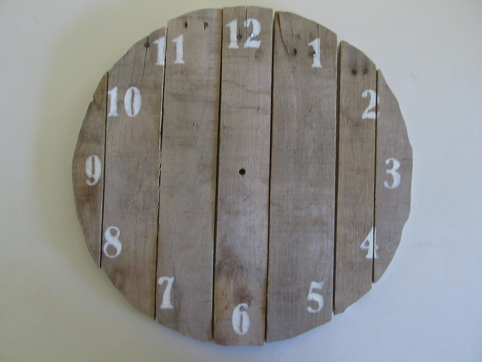 How To Make A Clock Out Of Wood  Google