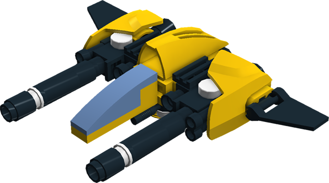 Microscale fighter.